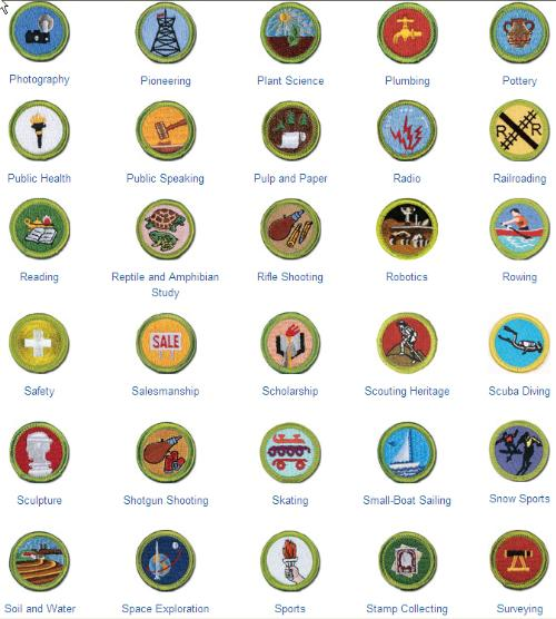 Public MERIT BADGE LIST - Boy Scout Troop 142 (Bardstown ...